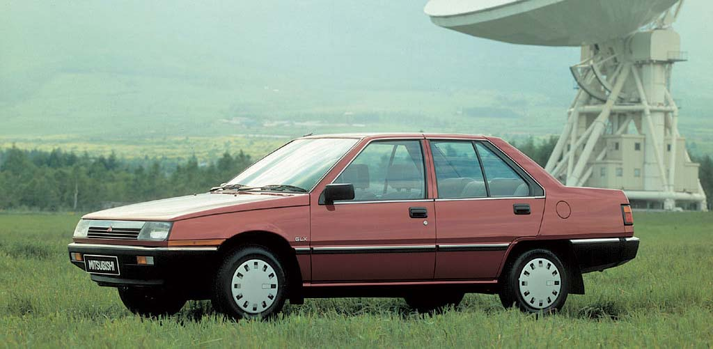Remembering Mitsubishi Cars From the 1980s 26