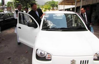 Pak Suzuki Preparing to Launch the New Alto 3