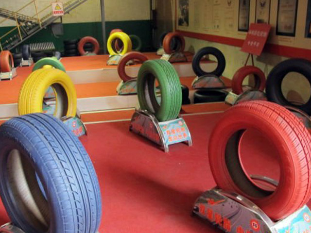 Colored Car Tires From China 1