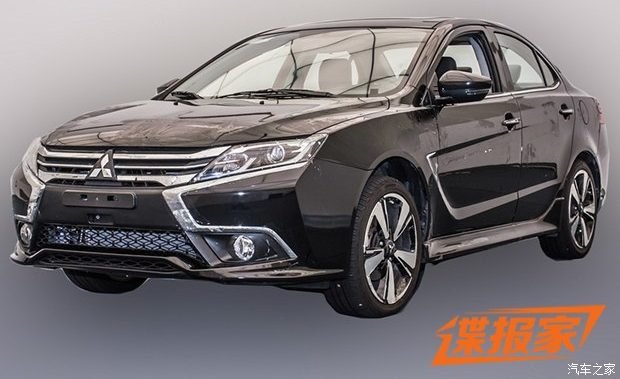 Mitsubishi-Lancer-facelift-front-quarter-with-revolutionary-styling-leaked