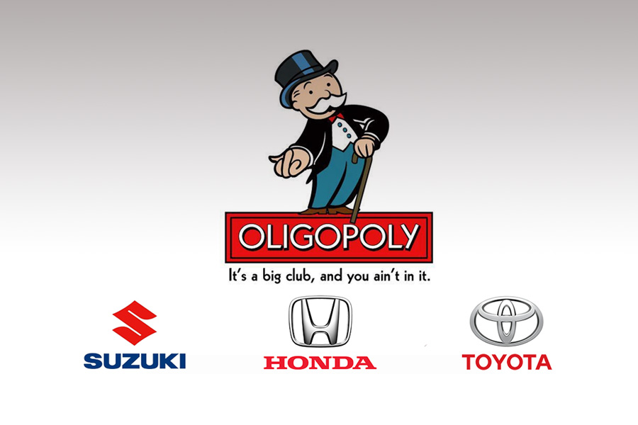 The Oligopoly Redefined.. 16