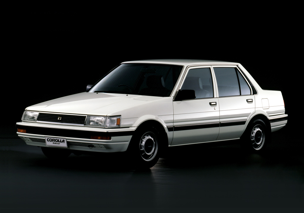 The Legendary 5th Generation Toyota Corolla E80 2