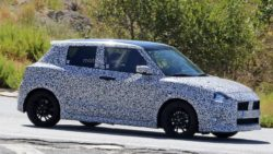 2017 Swift Sport Spied Testing- Shows Twin Exhausts 1