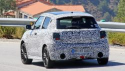 2017 Swift Sport Spied Testing- Shows Twin Exhausts 4