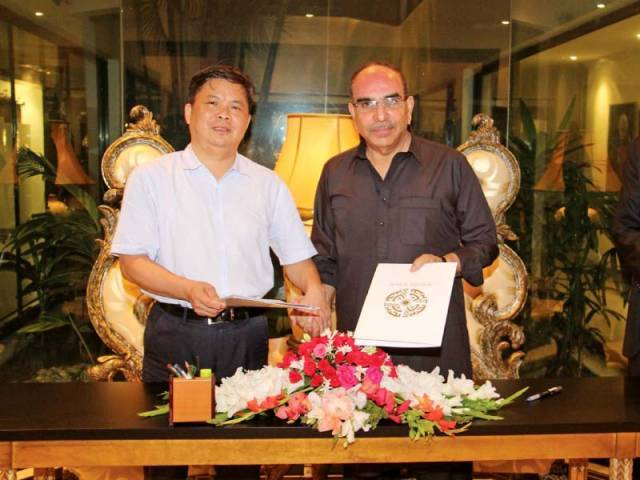 Bahria Town & Chinese Group Signs Karachi Transport Deal 9