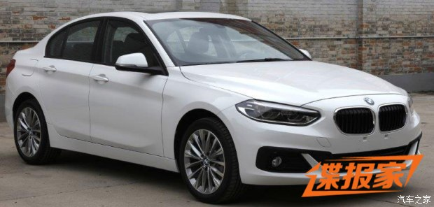 BMW 1 Series Sedan To Debut At Guangzhou Auto Show 12