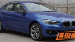 BMW 1 Series Sedan To Debut At Guangzhou Auto Show 2