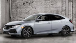 2017 Honda Civic (Euro-Spec) Hatchback Teased 3