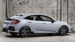 2017 Honda Civic (Euro-Spec) Hatchback Teased 5