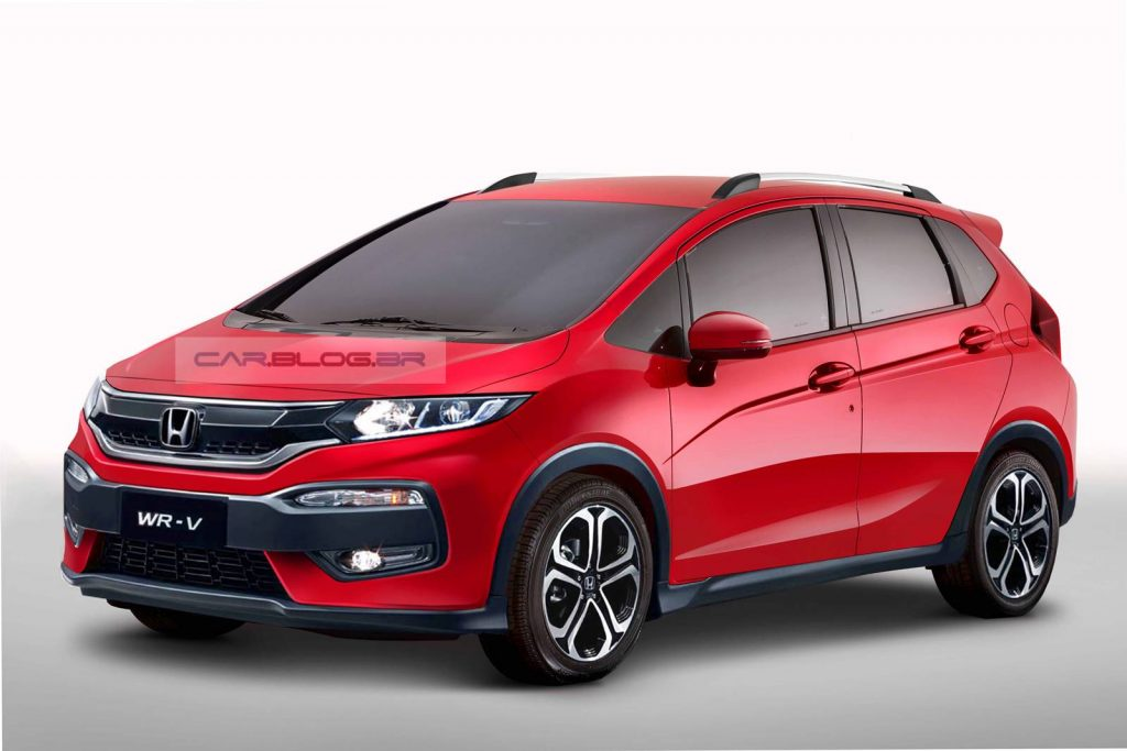 Honda To Launch WR-V Crossover In India 1