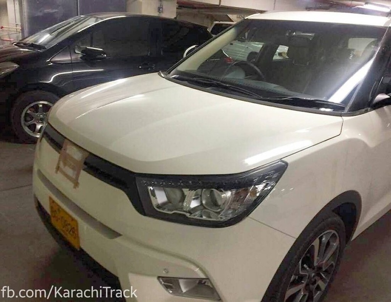 Dewan's SsangYong Tivoli Spotted Testing 1
