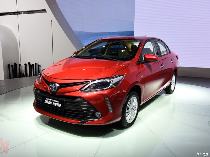 Toyota Vios 2016 Facelift Unveiled 1