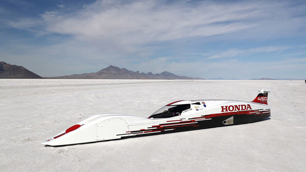 Honda's 660cc S Dream Streamliner Is Faster Than A Bugatti Veyron 5