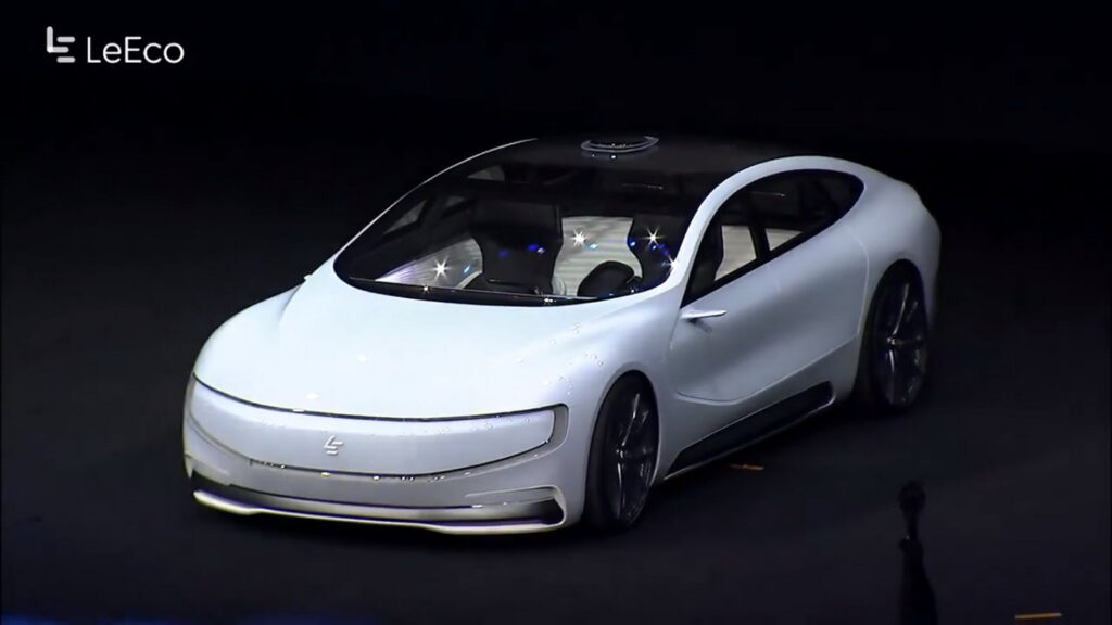 China's LeEco Raises US$ 1.08 Billion Funding For Its Electric Car Project 2