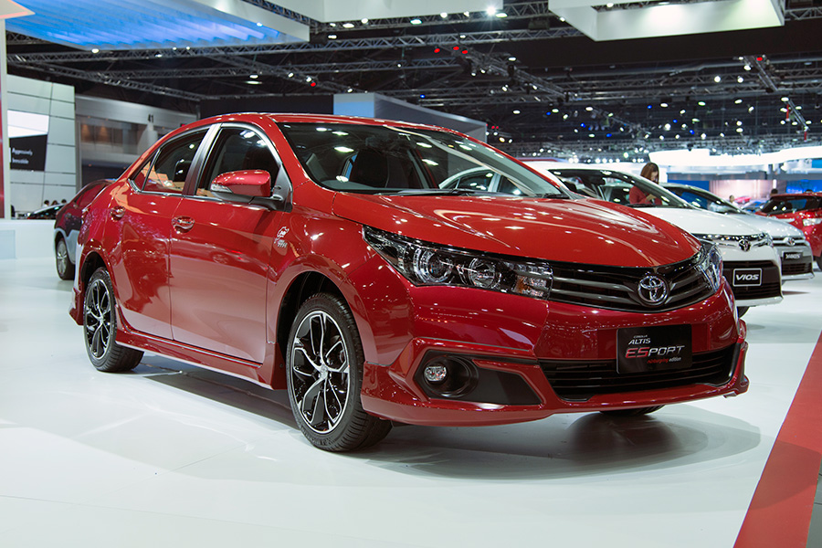 Toyota Corolla ESport Edition Launched In Thailand 1