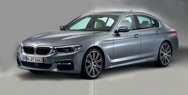 More Leaked Images of 2017 BMW 5 Series Hit The Internet 12