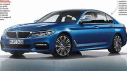 More Leaked Images of 2017 BMW 5 Series Hit The Internet 1