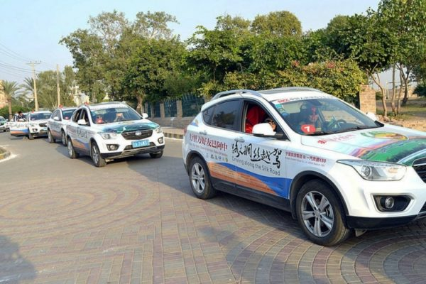 Pakistan-China Friendship Car Rally Reaches Sindh 1