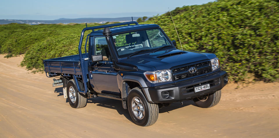 Toyota Land Cruiser 70 and Prius Get 5-star ANCAP Rating 10