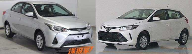 Toyota Vios Hatch, Yaris L Sedan Leaked Out In China 7