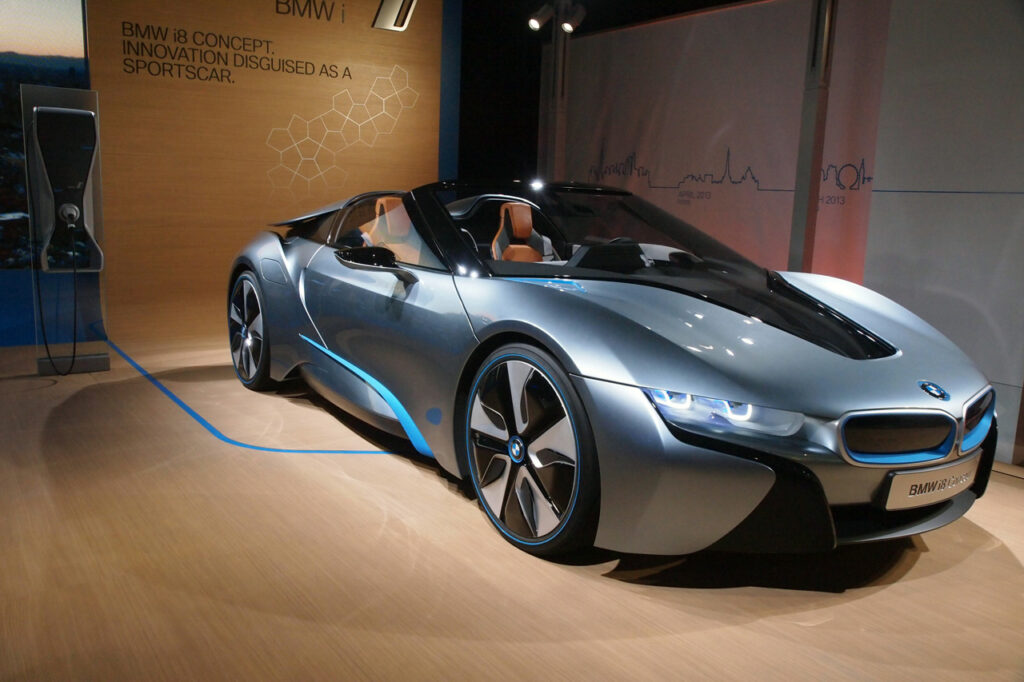 BMW i8 Roadster To Enter Production In 2018 3