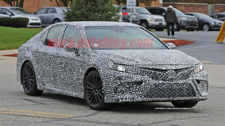 Next-gen Camry Spotted Testing 5
