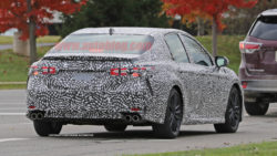Next-gen Camry Spotted Testing 6
