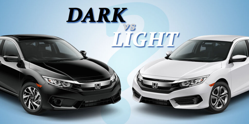 Dark Colored Cars Hotter Than Light Cars When Exposed To Sun 10