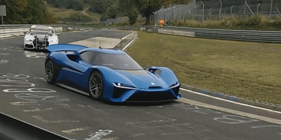 NextEV's 1360-hp Electric Supercar Caught Testing at the Nurburgring 1