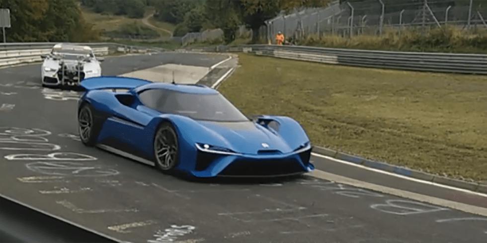 NextEV's 1360-hp Electric Supercar Caught Testing at the Nurburgring 5