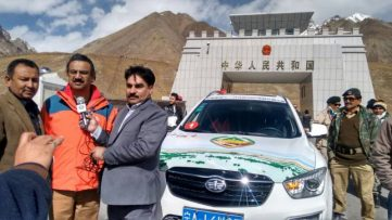 Warm Welcome For The Pak-China Friendship Rally 2