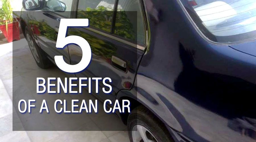 5 Benefits Of A Clean Car 5