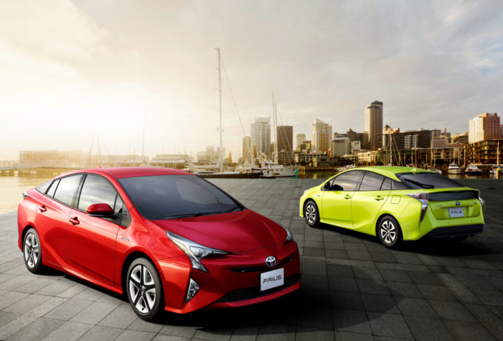 23 years of Toyota Prius 25