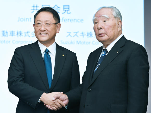 Toyota and Suzuki Announce New Capital Alliance Deal 2