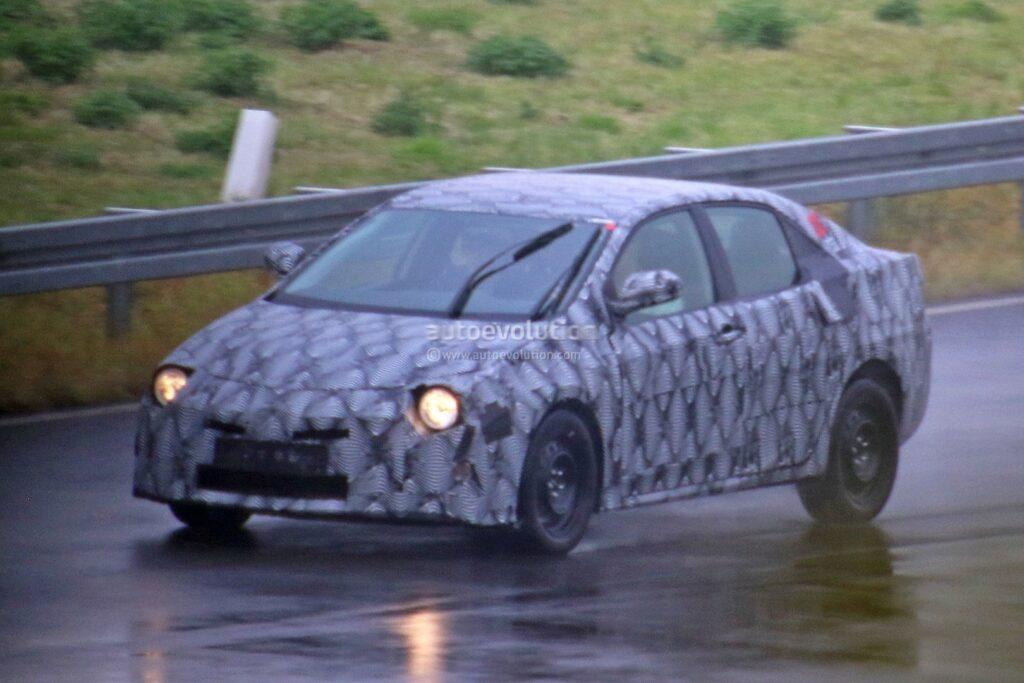 Toyota Begins Testing 12th Gen Corolla Based On TNGA Platform 4