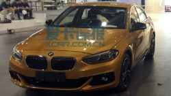 BMW 1-Series Sedan Spotted Ahead of Guangzhou Auto Show 4