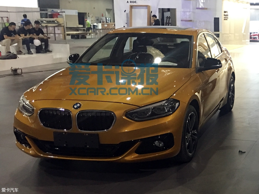 BMW 1-Series Sedan Spotted Ahead of Guangzhou Auto Show 2