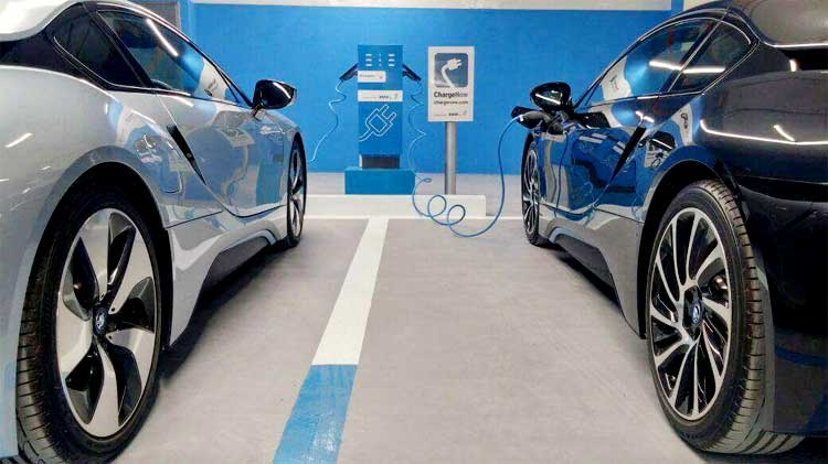 BMW Launches Pakistan's First Electric Car Charging Station 1