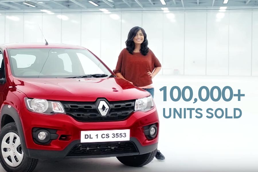 Renault Sells Over 100,000 Kwid in India 56