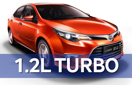 Toyota Levin Gets 1.2L Turbo 6
