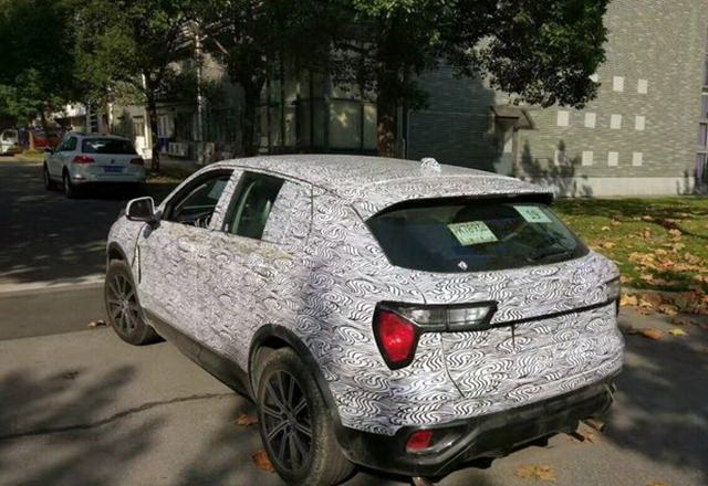 Geely's Lynk & Co CX11 Spotted Testing in China 1
