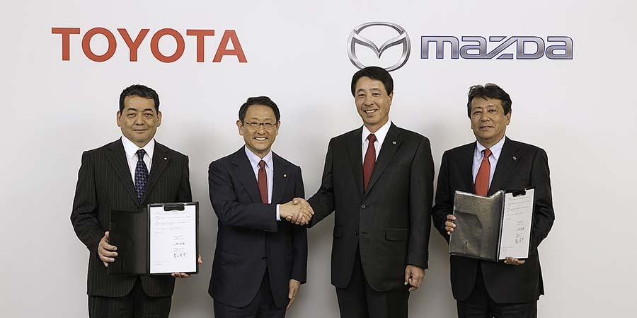 Toyota and Mazda to Form Partnership 2