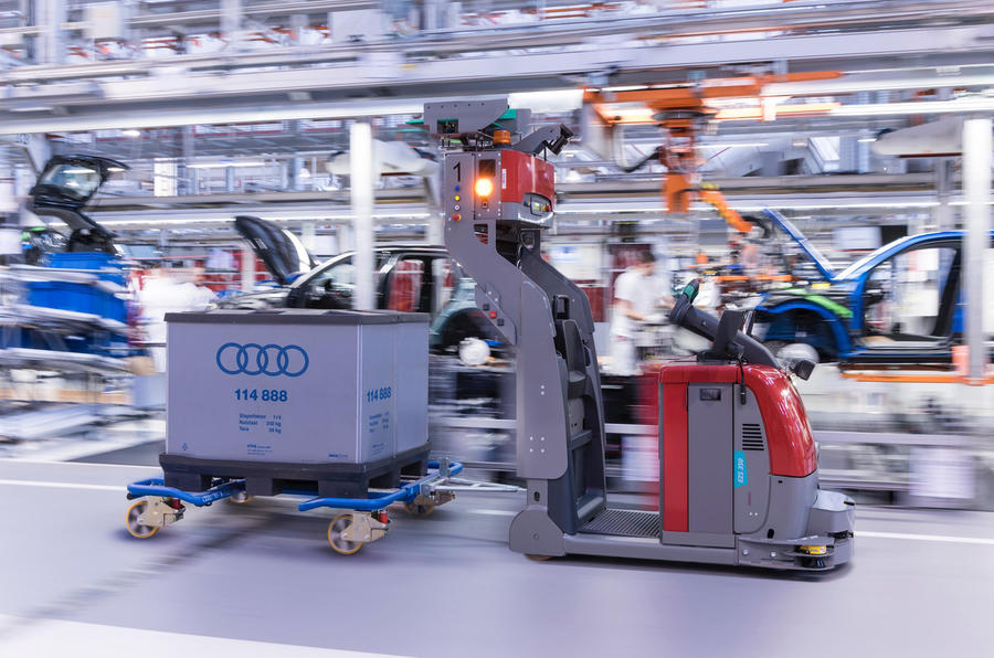 Audi to Say Goodbye to Conventional Production Line 18