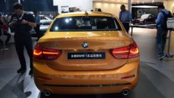 BMW 1-Series Sedan Debuts at 2016 Guangzhou Auto Show 8