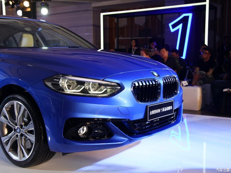 BMW 1-Series Sedan Debuts at 2016 Guangzhou Auto Show 9