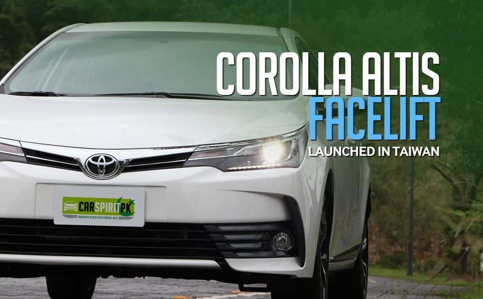 Corolla Altis Facelift Launched In Taiwan 1