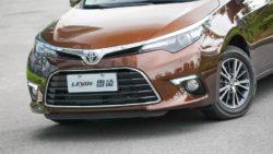 Toyota Levin Gets 1.2L Turbo 8