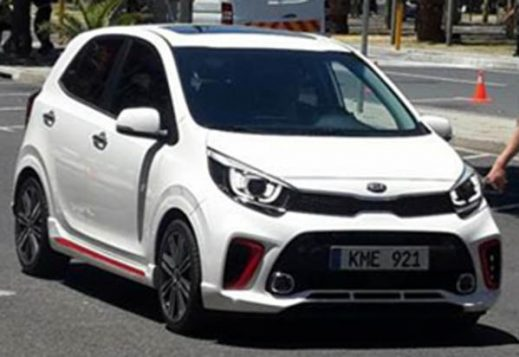 2017 Kia Picanto Official Sketches and Spy Shots 3