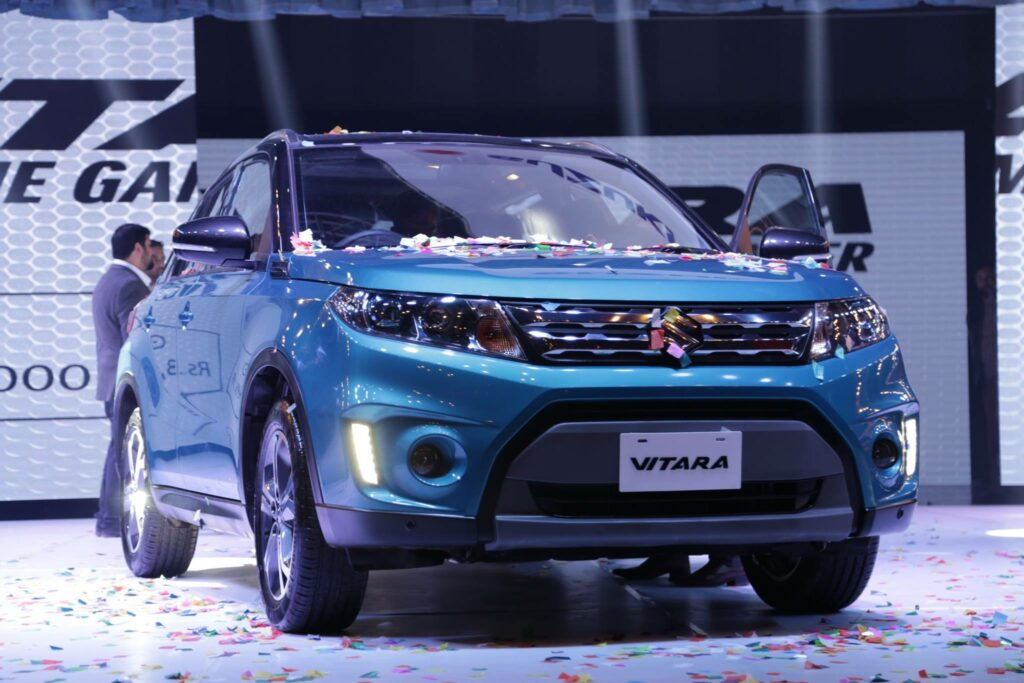 Pak Suzuki Launched The Vitara Compact SUV- Priced From 34.9 Lac 5