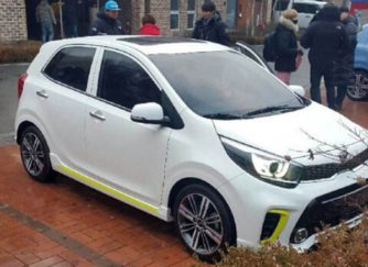2017 Kia Picanto Official Sketches and Spy Shots 4